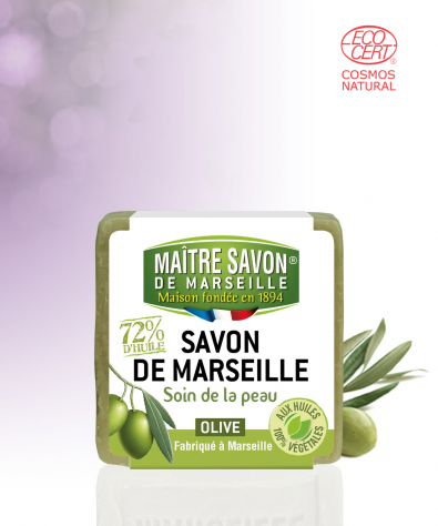 Marseille soap Olive Cube 200 g