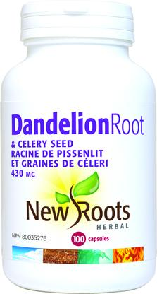 Dandelion Root & Celery Seed 100vcaps