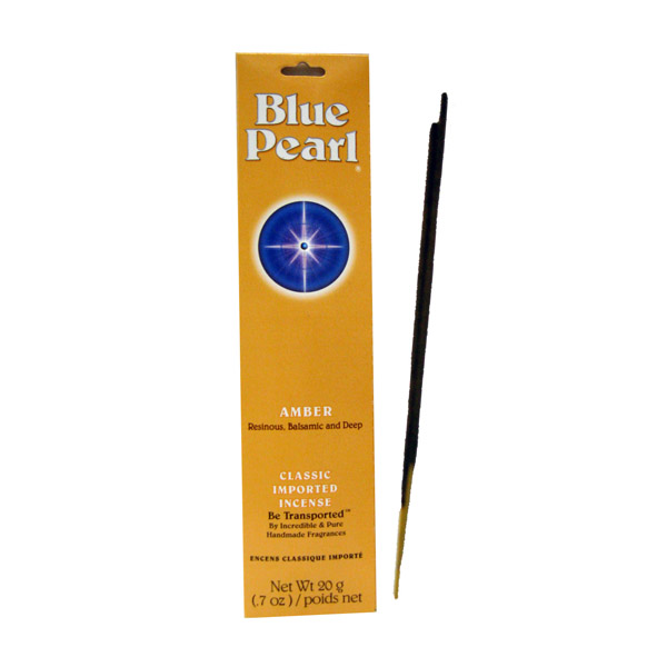 Blue Pearl Incense Amber 20 gm