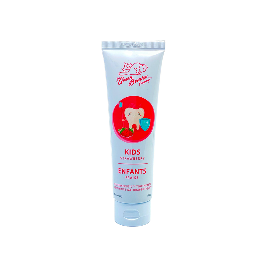 Naturapeutic child toothpaste fluoride free - strawberry 100g
