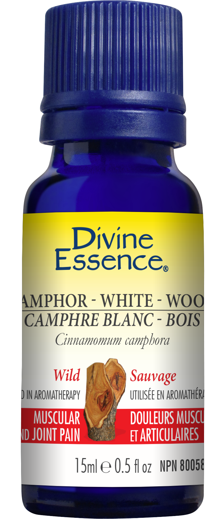 Camphor - White - Wood 15ml
