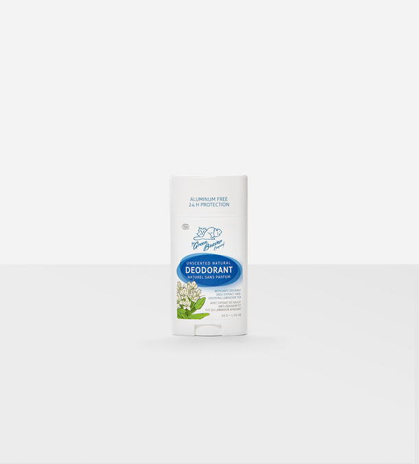 Unscented Natural Deodorant Stick 50g