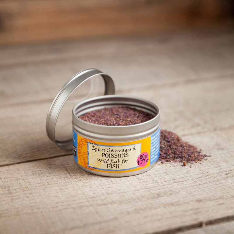 Wild Rub For Fish 50g