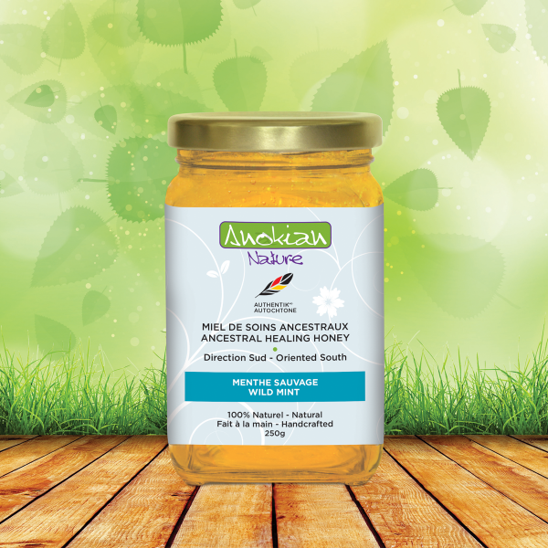 Ancestral healing honey| Wild mint 250g