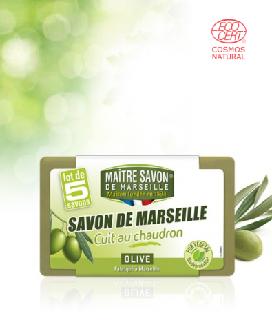 Marseille Soap Extra pure - Olive 5x100g