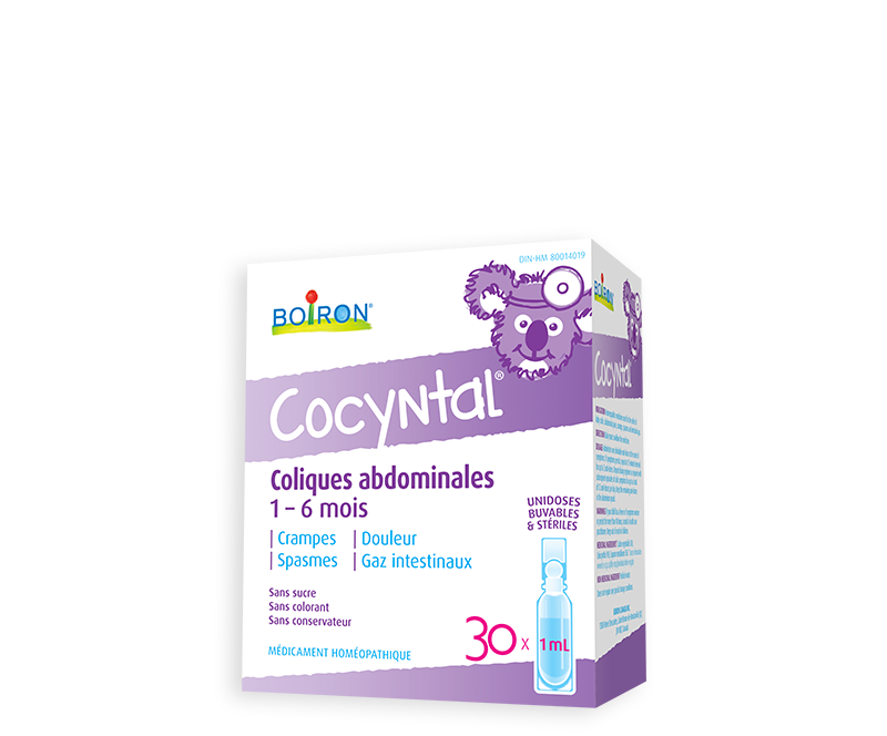 Cocyntal for baby 30 sterile & drinkable unit-doses