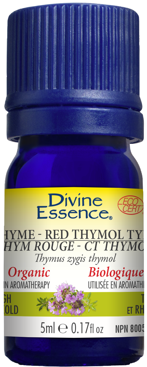 Thyme - Red Thymol Type 5ml